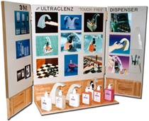 Ultraclenz and 3M Portable Display System with Prototypes